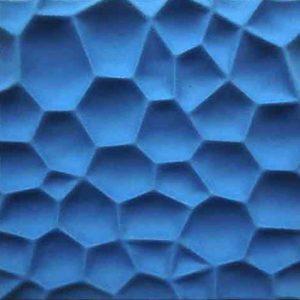 Akustik Panel blau